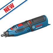 Bosch GRO 108 V-LIN 10.8V Li-Ion Cordless Rotary Multi-Tool - Bare