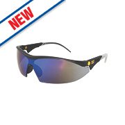 Cat Digger Blue Mirror Lens Safety Specs