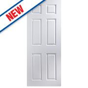 Jeld-Wen Bostonian 6-Panel Interior Door White 2040 x 726mm