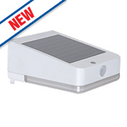 LAP LED Solar Floodlight with PIR White