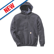 "Carhartt K121 Hoodie Charcoal Heather Large "" Chest"