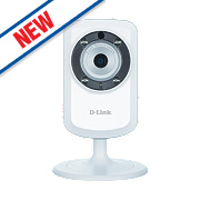 D-Link DCS-933L/B Indoor Wireless Day / Night Cloud Camera