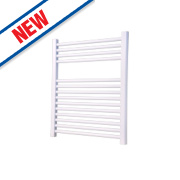Flomasta Flat Ladder Towel Radiator White 700 x 400mm 264W 901Btu