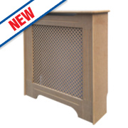 Unbranded Victorian MDF Radiator Cabinet Mini Unfinished 820 x 210 x 868mm