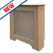 Victorian MDF Radiator Cabinet Mini Unfinished 820 x 210 x 868mm