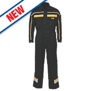 "JCB Hollington Coverall Black X Large 46-48"" Chest 32½"" L"