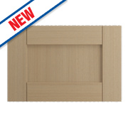 Oak Kitchens Shaker 600 Appliance Door 596 x 432mm