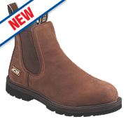 JCB Agmaster Dealer Boots Tan Size 12