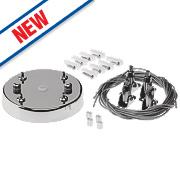Enlite Adjustable LED Light Panel Suspension Kit