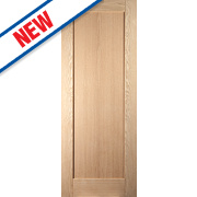 Jeld-Wen Shaker Single-Panel Interior Door Oak Veneer 2040 x 726mm