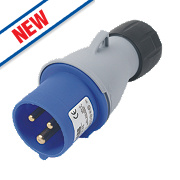 ABB Straight Plug 16A 2P+E 250V 6H IP44