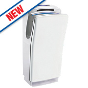 Biodrier Business² Ultra Fast Blade Hand Dryer White 0.7-1.4kW