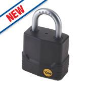 Yale Protector Weatherproof Steel Padlock 45mm