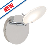 Brilliant Shirin LED Wall Light Chrome 5W 240V