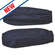 Portwest Bizweld Flame-Resistant Welding Sleeves Navy One Size Fits All