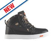 Scruffs Derwent Safety Hiker Boots Black / Camouflage Size 11