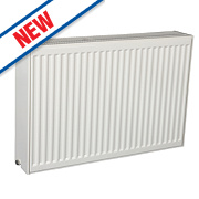 Kudox Premium Type 33 Horizontal 3-Panel Convector Radiator 600 x 1400mm
