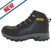Stanley Kingston Safety Boots Black Size 8