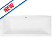 Luxury Twin-Ended Bath Acrylic No Tap Holes 1700mm