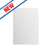 Slab Kitchens 600 Base/Wall Door White Gloss 732 x 596mm