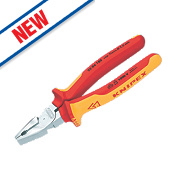 Knipex High Leverage VDE Combination Pliers 8""