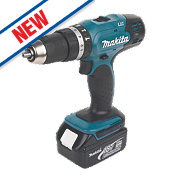Makita DHP453RFTK 18V 3Ah Li-Ion Cordless Combi Drill w/101Pc Accessory Kit