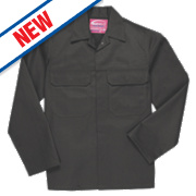 "Portwest Bizweld Flame-Resistant Jacket Black Large 44"" Chest"
