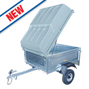 Maypole Lockable ABS Hard Cover for MP6812 Trailer