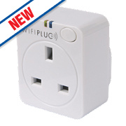 WifiPlug Power Wi-Fi Controlled Plug White 13A