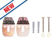 Rawlplug 67-482 Corner Basin Fixing Kit