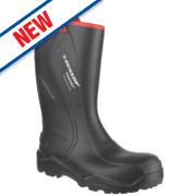 Dunlop Purofort+ C762043 Safety Wellingtons Black Size 14