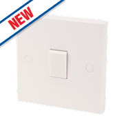 20A DP Switch White