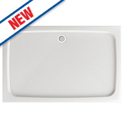 Aqualux Aqua 45 Rectangular Shower Tray 1000 x 760 x 45mm