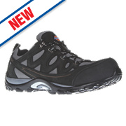 Dickies Alford Safety Trainers Grey/Black Size 7