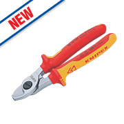 Knipex Cable Shears VDE Certified Grip 165mm