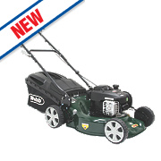 Webb WER18HP 46cm hp 125cc Push Rotary 3-in-1 Petrol Lawn Mower