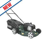 Webb WER18HP 46cm hp 125cc Push Rotary 3-in-1 Petrol Lawn Mower
