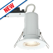 LAP Fire Rated Fixed LED Downlight IP20 Gloss White 2.5W