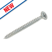 Silverscrew Woodscrews 3.5 x 25mm Pack of 200