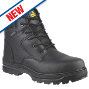 Amblers FS006C Metal Free Safety Boots Black Size 10