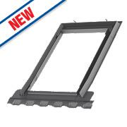 Velux EDN CK02 2000 Single Window Recessed Slate Flashing 550 x 780mm