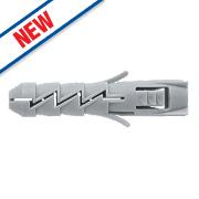 Rawlplug Fix Nylon Wall Plugs 3.5-4 x 40mm 100 Pieces