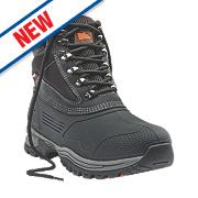 Hyena Etna Chukka Safety Boots Black Size 8