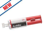Araldite Rapid Set 2-Part Epoxy Adhesive Syringe Opaque 24ml