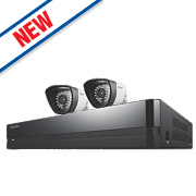 Samsung SDS-P3022/EU 4-Channel CCTV DVR with 2 Cameras
