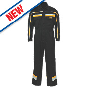 "JCB Hollington Coverall Black Large 42-44"" Chest 32½"" L"