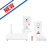 OPLink C1S3 Home Security Kit with Remote Viewing