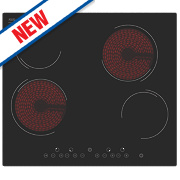 CEHX60 Ceramic Hob Black 590 x 520mm