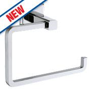Moretti Linear Toilet Roll Holder Chrome