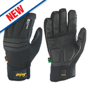 Snickers Weather Dry Performance Gloves Black Large